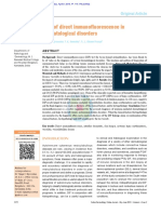 Role of Direct Immunofluorescence in Dermatological Disorders