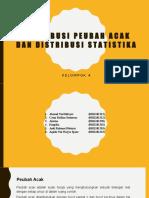 Distribusi Peubah Acak Dan Distribusi Statistika