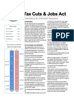 Tax Cuts and Jobs Act Individuals 2018