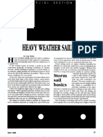 Cruising Guide - Heavy Weather Sailing - 7p.