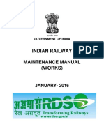 Indian Railway Maintenance Manual (Works)