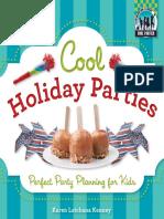Cool Holiday Parties- Perf [Karen Latchana Kenney]