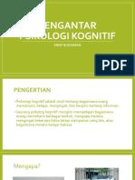 Arief Budhiman_pengantar Psikologi Kognitif