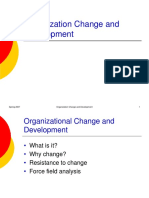 Org Change and Devt 2