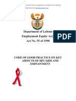 Code HIVAIDS and Employment