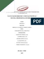 Investigación Formativa -Fundamentos de La Didáctica
