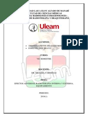 radioterapia interna externa del cáncer de próstata v