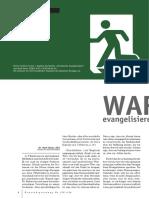 Mark Dever, USA - Warum Evangelisieren Wir Nicht