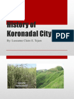 History of Koronadal City