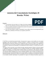 Reseña Weber hcs ii.docx