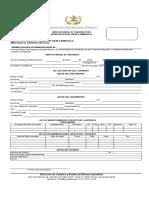 modelo de aviso notarial