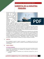 Impacto Ambiental en La Industria Pesquera