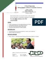 JCIDA Cross Border Conference flyer
