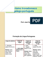 AULA - O Lirismo Trovadoresco Galego-português