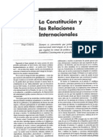La Constitucion y Las Relaciones Internacionales
