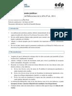 2019 - Cartilla Para Citar Fuentes Jurídicas en APA [CDP]