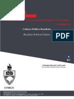 CULTURA POLITICA BRASILEIRA