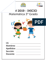 MATEMATICA 3° GRADO (2) 2019
