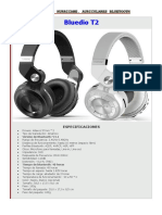 Audifono Bluedio