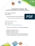 Guía Para Desarrollo Prueba Objetiva Abierta (POA)