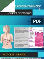 Cancer de Esofago Diapos