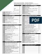 Student Group Risk Assessment Form