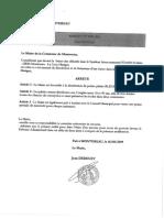 L'arrêté insolite publié par le maire de Montereau, le 16 mai 2019