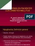 016 - Hipoglicemia en El Paciente Con DM
