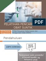 Materi PKPO_Pelatihan Pencampuran Obat Suntik