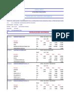 Analisis Unitarios de Inst. Sanitarias