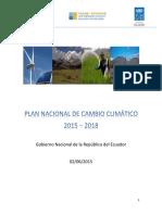 PLAN NACIONAL DE CAMBIO CLIMÁTICO.pdf