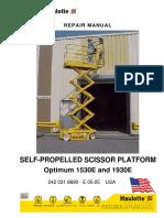 Haulotte Optimum 8 Repair Manual 2005.PDF