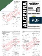 Algebra i - Teoria de Exponentes y Ecuaciones Exponenciales1