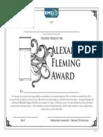 Fleming Award