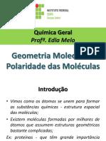 1026931-Slides Geometria Molecular e Polaridade