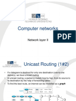 Lecture 11. Network Layer II