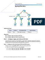 9.5.2.6 Packet Tracer - Configuring IPv6 ACLs Instructions IG-converted.docx