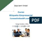 Sp Curso Etiqueta Empresarial 38017