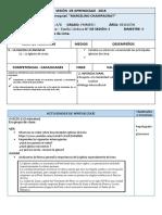 SESIÓN  DE APRENDIZAJE   4 RELIGIÓN - copia.docx