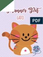 Planner Pet - Gato