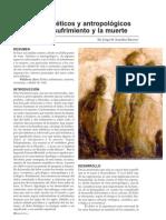 Bioetica Antropologia Dolor Sufrimiento y Muerte