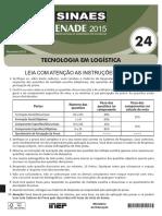24 Cst Logistica Enade 2015