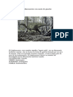 Gryposaurus Los Dinosaurios Con Nariz de Gancho