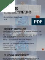 Trastorno hidroelectrolíticos exposicion