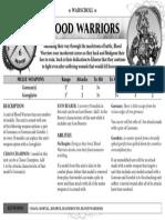 AoS Blood Warriors En