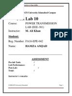 post lab 10