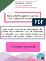 Curso Amigurumi para Iniciantes