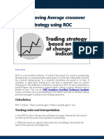 Elearn 5 30 Moving Average Crossover Strategy Using ROC 27Jul17