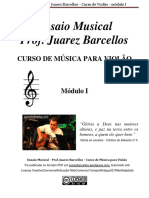 Ensaio Musical Mc3b3dulo i