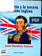 San Martín y la tercera invasión inglesa - Juan Bautista Sejean